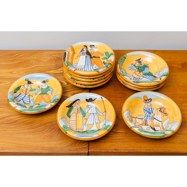 A Ceramic Dinner Service Signed Christian Dior, France, 1960's For Sale - Image 6 of 9