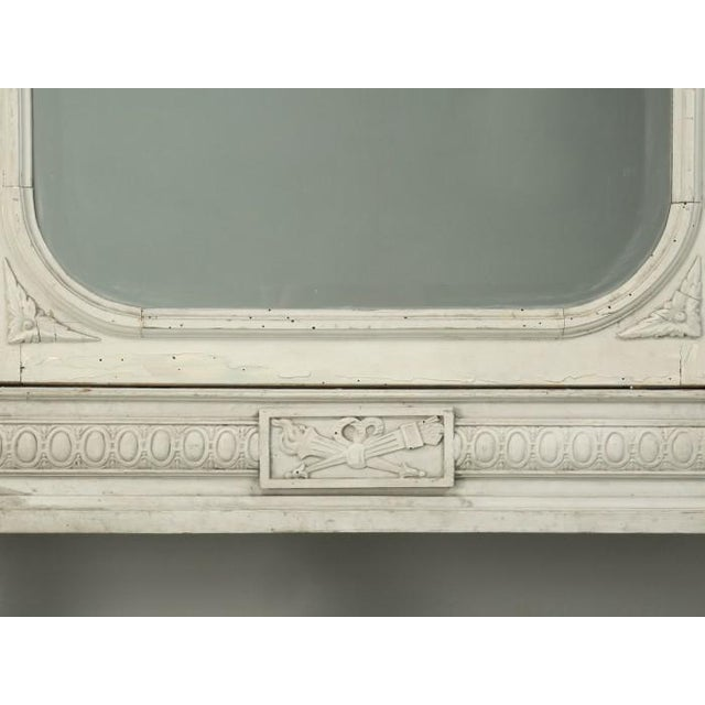 Antique French Original Painted Armoire, Circa 1900 For Sale - Image 11 of 12