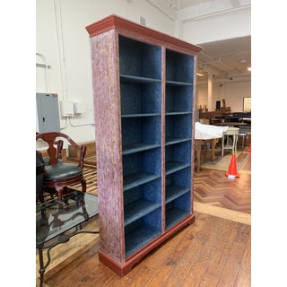 Custom Hand Painted Pine Bookcase + Adjustable Shelves Preview