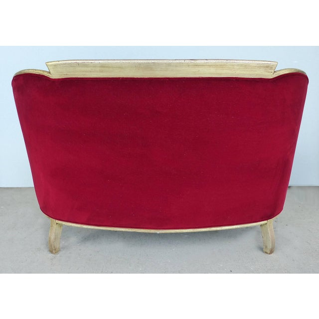 Paul Follot French Art Deco Settee and Bergères Set For Sale In Miami - Image 6 of 13