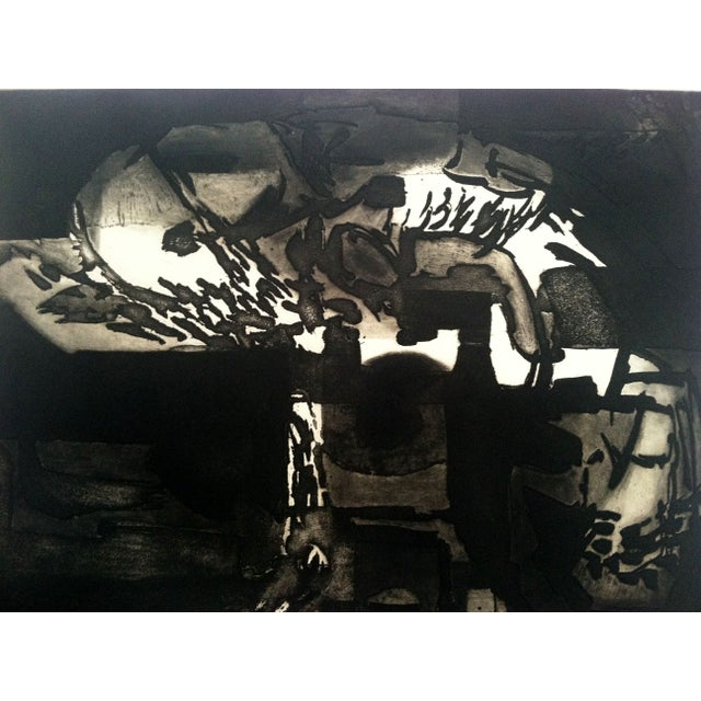 1960s Modernist Abstract Print - Image 2 of 7