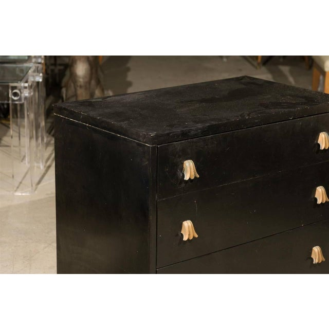 Rare Chest by Robsjohn-Gibbings for Widdicomb, Choice of Lacquer Finish For Sale In Atlanta - Image 6 of 10