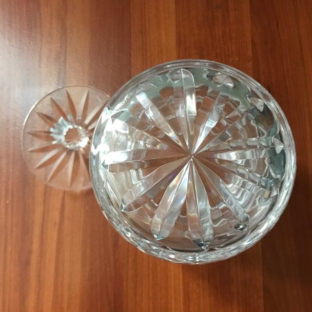Glass Vintage Tiffany & Co Crystal Lidded Biscuit Jar For Sale - Image 7 of 9