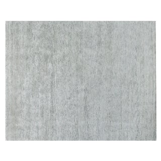 Stark Studio Rugs Contemporary Trapper Silk Rug - 5′ × 6′1″ For Sale