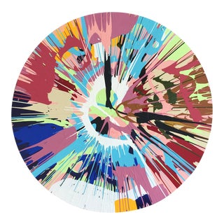 Spin Series I Pink/Blue/Green by Anthony Louis Fahden For Sale