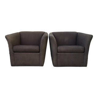 Thayer Coggin Summit Lounge Chairs- a Pair For Sale