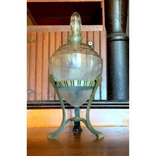 Art Deco Pharmacy Bottle, 1920s General Store Medicine Jar Preview