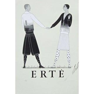 Erte (Romain de Tirtoff) Modern Sports Dress for Men 1968 1968 For Sale