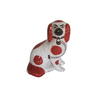 Vintage Staffordshire Dog