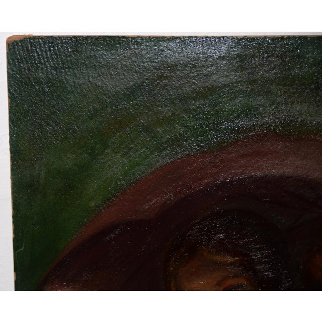 Jacob Weinles Original Oil Painting C.1920 For Sale In San Francisco - Image 6 of 8