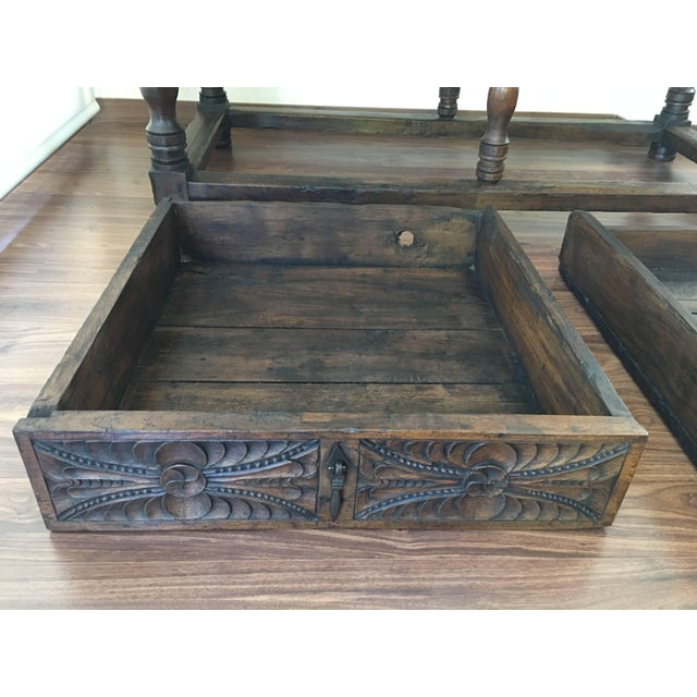 17th Century 17th Century Spanish Refectory Table or Farm Table With Drawers For Sale - Image 5 of 10