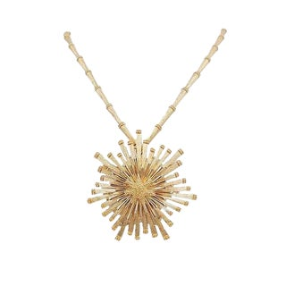 Monet Necklace W/Detachable Brooch, 1972 For Sale