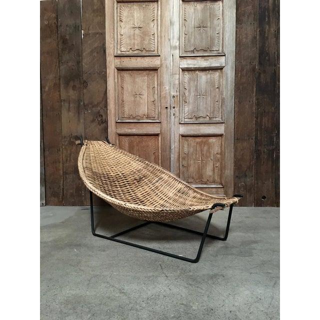 """Duyan"" lounge chair by John Risley."