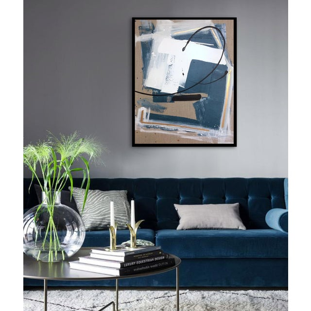 'GEHRY' original abstract painting by Linnea Heide - Image 6 of 8