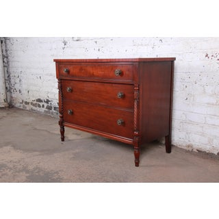 Kindel Furniture Carved Mahogany Chest of Drawers Preview