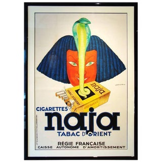 Jules Isnard French Deco Silkscreen Poster For Sale