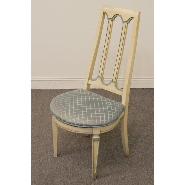 French Late 20th Century Vintage American of Martinsville Cotillion Collection French Provincial Chair For Sale - Image 3 of 8