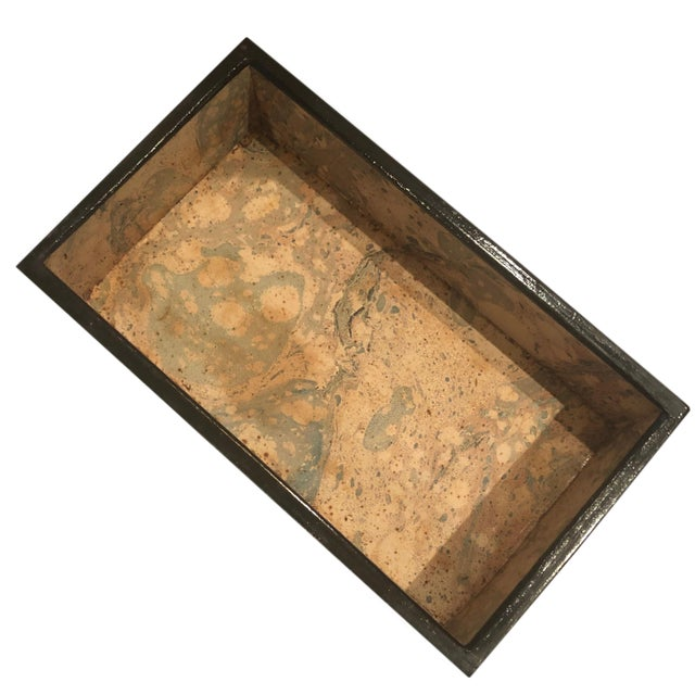Mid-Century Modern 1950s Mid Century Paper and Wood Box by Alessandro Albrizzi For Sale - Image 3 of 6