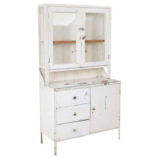 Industrial Steel Naval Apothecary Medical Cabinet For Sale