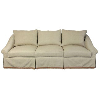 Large Custom-Made Deep Seated Sofa