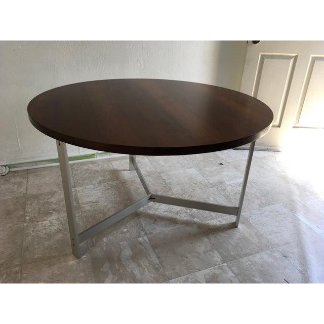 1960s Vintage Jørgen Kastholm & Preben Fabricius Rosewood and Aluminum Center Table For Sale - Image 11 of 12