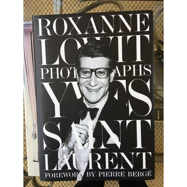 Yves St Laurent Photographs Book, Foreword by Pierre Berge For Sale - Image 9 of 9