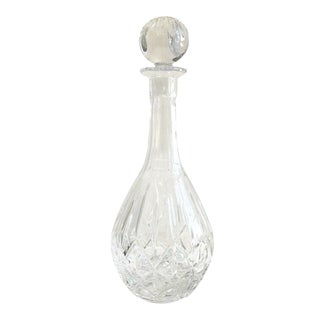 Vintage Crystal Decanter For Sale