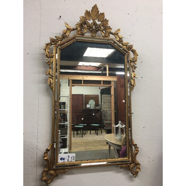 LaBarge Gilt Mirror For Sale - Image 5 of 6