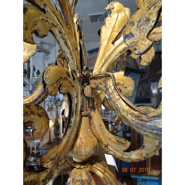 17th Century Venetian Chandelier For Sale - Image 9 of 12