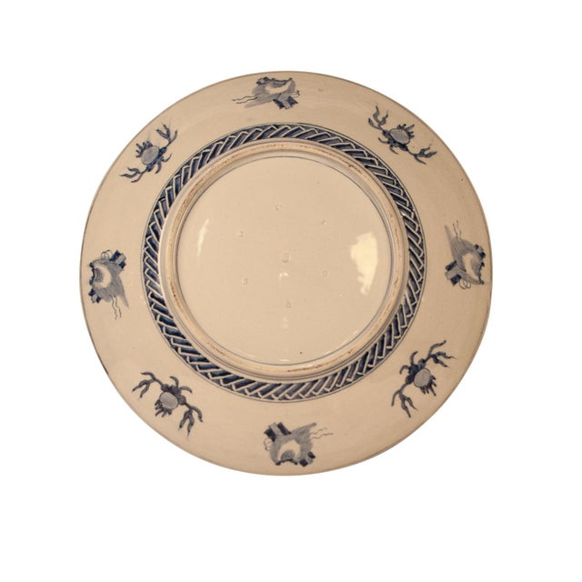 Imari Porcelain 1890s Japanese Large Imari Charger Plate For Sale - Image 4 of 5