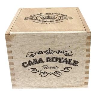 Vintage Cigar Jewelry Box