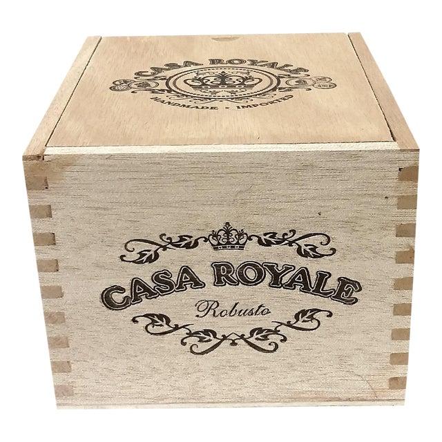 Vintage Cigar Jewelry Box - Image 1 of 10