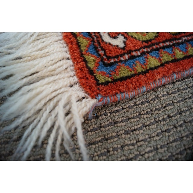 Quality Hand Tied Caucasian Rug - 3′7″ × 5′6″ For Sale - Image 7 of 10