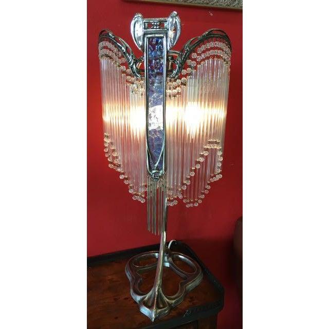 Art Nouveau Lamps After Hector Guimard Lustre Lumière - A Pair - Image 2 of 9