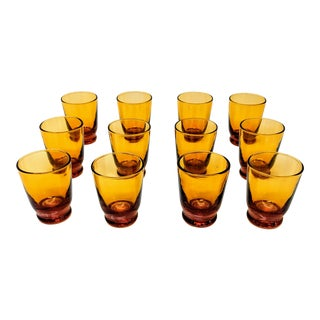 1970s Italian Shot Glasses - Set of 12 For Sale
