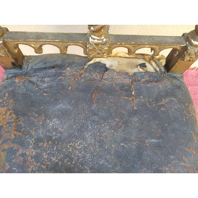 Period Renaissance 16th Century Gothic High Back Chair For Sale - Image 11 of 12