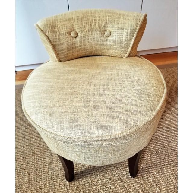 Fabulous Safavieh Georgia Gold Vanity Stool Machost Co Dining Chair Design Ideas Machostcouk