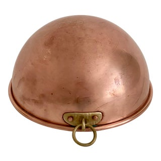 Copper Confectionary Round Bottom Pot For Sale