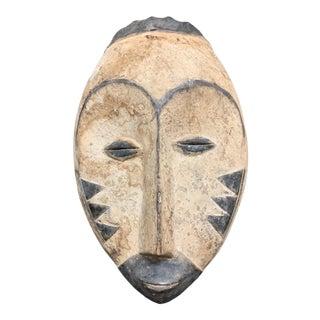 Vintage African Art Fang Mask For Sale