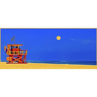 South Beach Pointe: Manipulated Photograph on Canvas For Sale