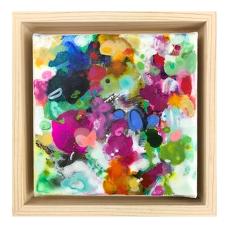 """Abstract Original Mixed Media Painting, """"Tune Without Words"""" by Gina Cochran For Sale"""