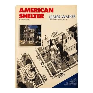 """1997 """"American Shelter"""" First Edition Architecture Book For Sale"""
