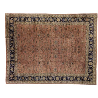 Antique Turkish Sparta Palace Size Rug - 13'06 X 17'05 For Sale