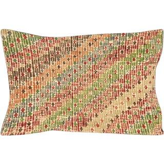 """Nalbandian - Turkish Jijim Lumbar Pillow - 15"""" X 23"""" For Sale"""