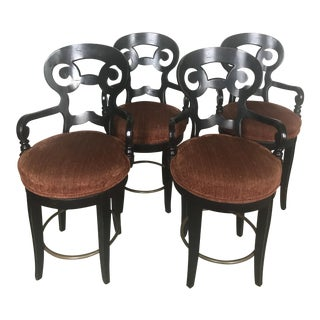Century Furniture Swivel Counter Stools - Set of 4