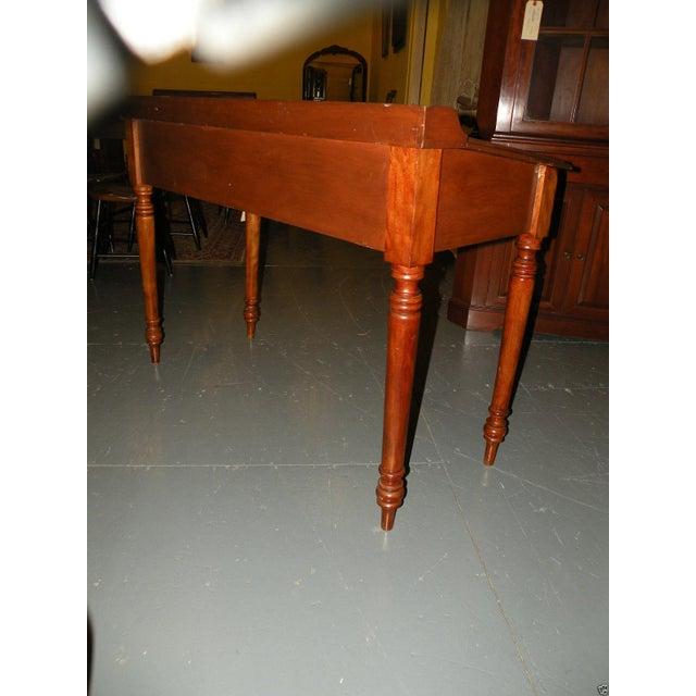 Antique Primitive Cherry Desk - Image 3 of 8