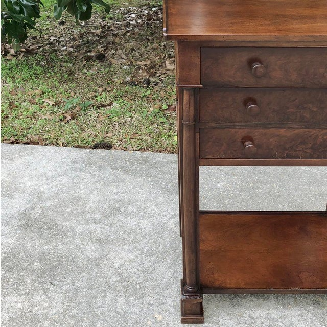 Brown 19th Century French Charles X Nightstand For Sale - Image 8 of 12