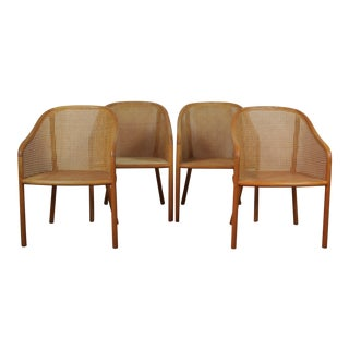 1970s Ward Bennet Landmark Chairs - Set of 4 For Sale