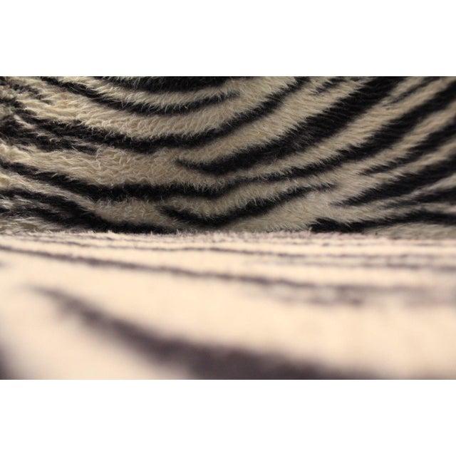 Chromcraft Mid-Century Zebra Bar Stools - Set of 6 - Image 9 of 10