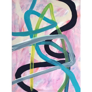 Day 147 Jessalin Beutler Original Abstract Painting For Sale